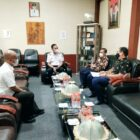 Wakil Bupati Wajo H. Amran SE menerima silaturahmi Kepala UNICEF Perwakilan Wilayah Sulawesi dan Maluku, Hengky Wijaya
